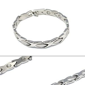 Fashionru Jewelry - 316L stainless steel magnetic bracelet